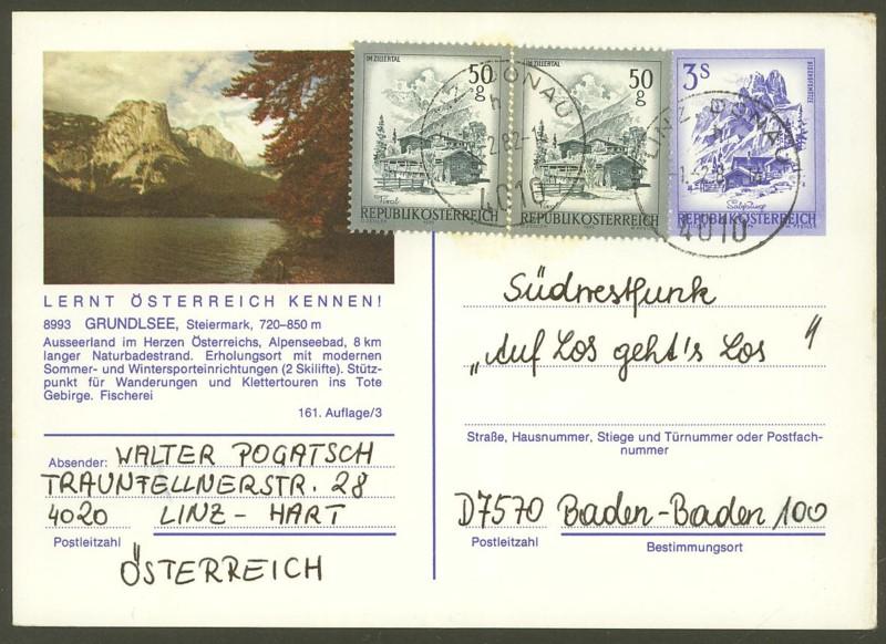 """Ganzsachen mit Wertstempel """"Schönes Österreich"""" - Seite 2 P_461_12"""