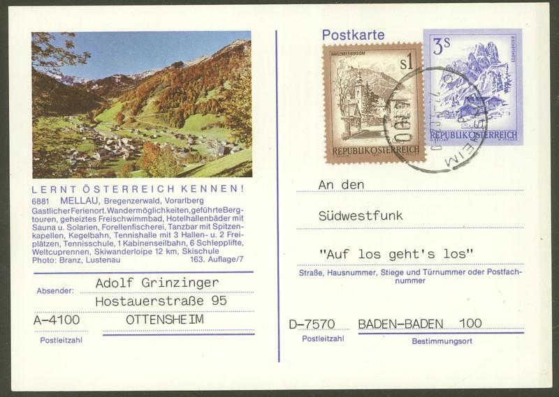 """Ganzsachen mit Wertstempel """"Schönes Österreich"""" - Seite 2 P_461_18"""