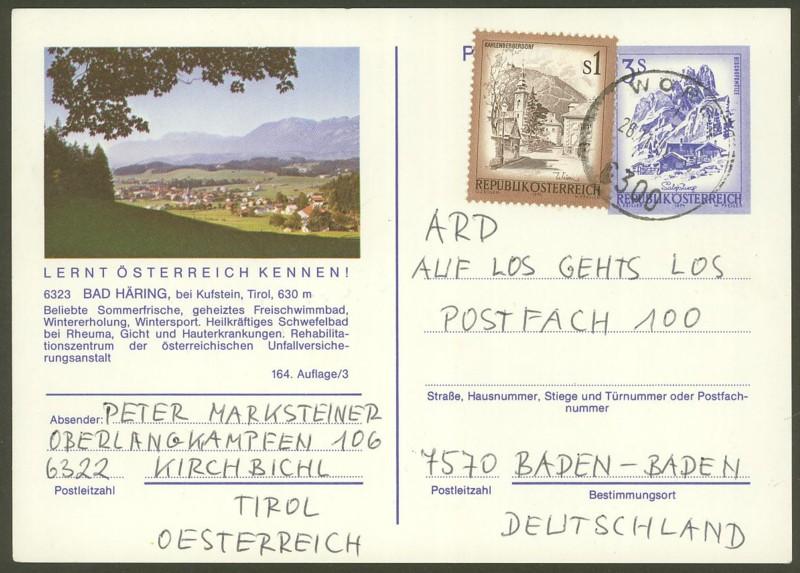 """Ganzsachen mit Wertstempel """"Schönes Österreich"""" - Seite 2 P_461_22"""