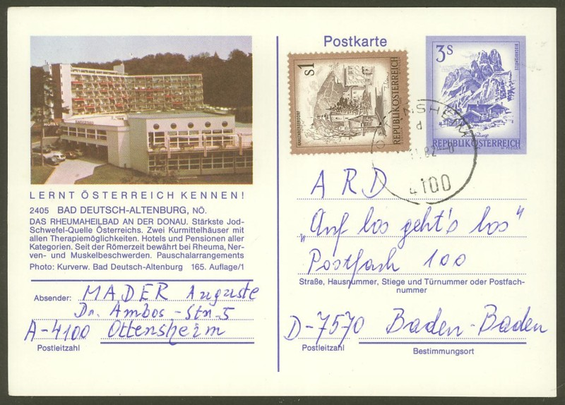 """Ganzsachen mit Wertstempel """"Schönes Österreich"""" - Seite 2 P_461_29"""
