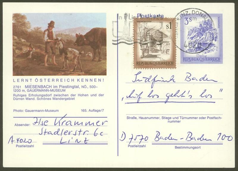 """Ganzsachen mit Wertstempel """"Schönes Österreich"""" - Seite 2 P_461_31"""