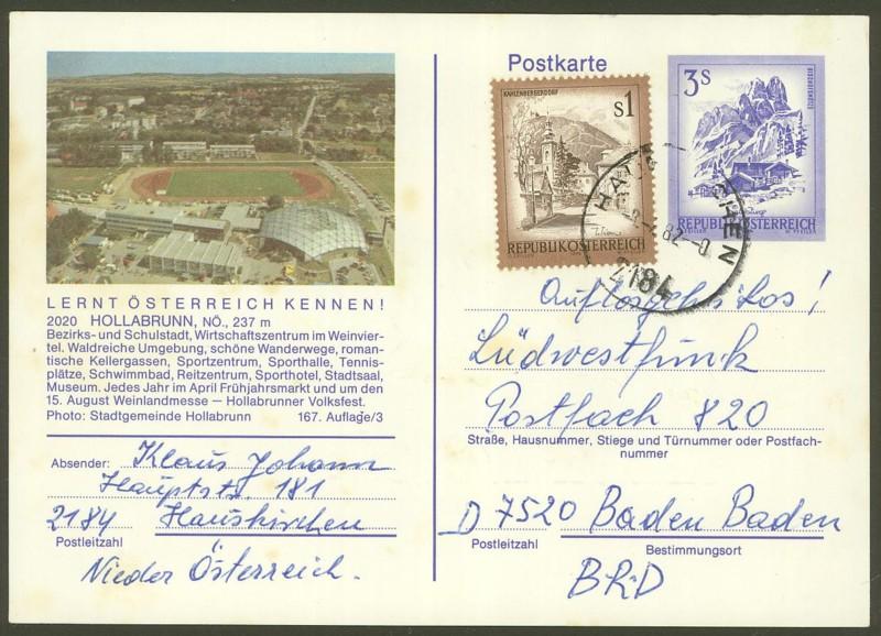 """Ganzsachen mit Wertstempel """"Schönes Österreich"""" - Seite 2 P_461_35"""