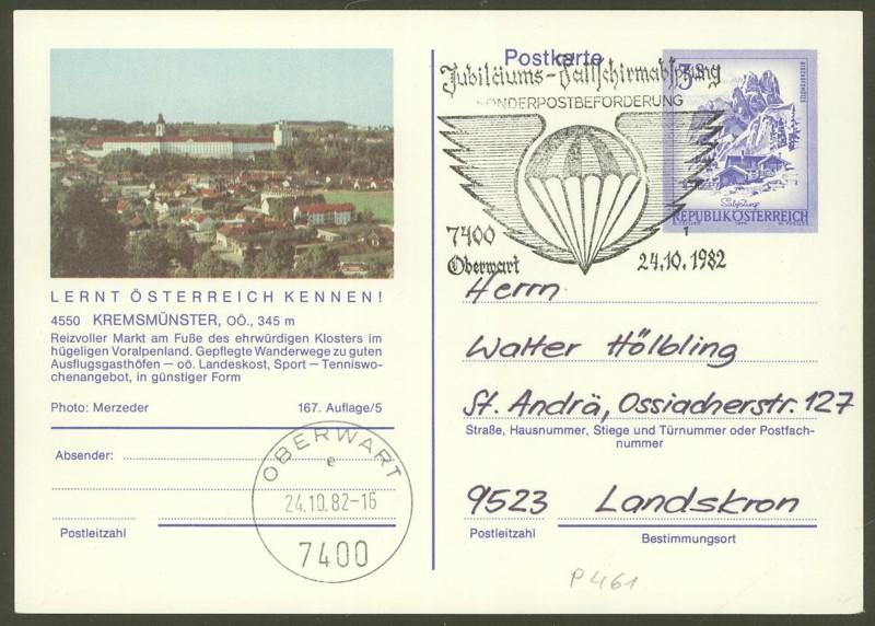 """Ganzsachen mit Wertstempel """"Schönes Österreich"""" - Seite 2 P_461_38"""
