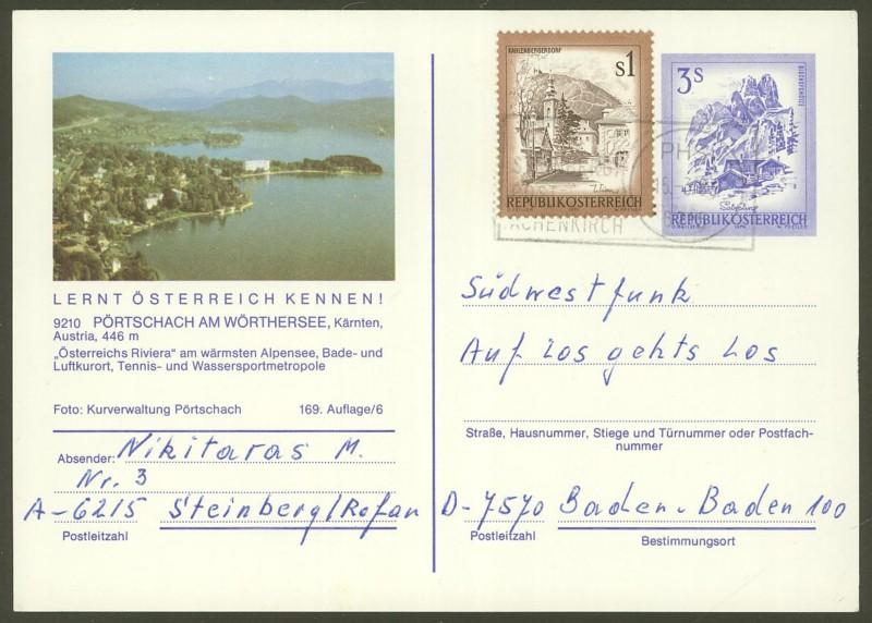 """Ganzsachen mit Wertstempel """"Schönes Österreich"""" - Seite 2 P_461_42"""