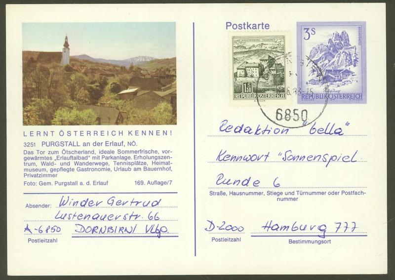 """Ganzsachen mit Wertstempel """"Schönes Österreich"""" - Seite 2 P_461_44"""