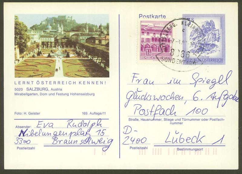 """Ganzsachen mit Wertstempel """"Schönes Österreich"""" - Seite 2 P_461_46"""