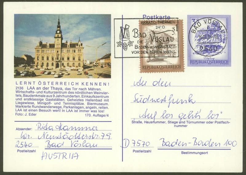 """Ganzsachen mit Wertstempel """"Schönes Österreich"""" - Seite 2 P_461_48"""
