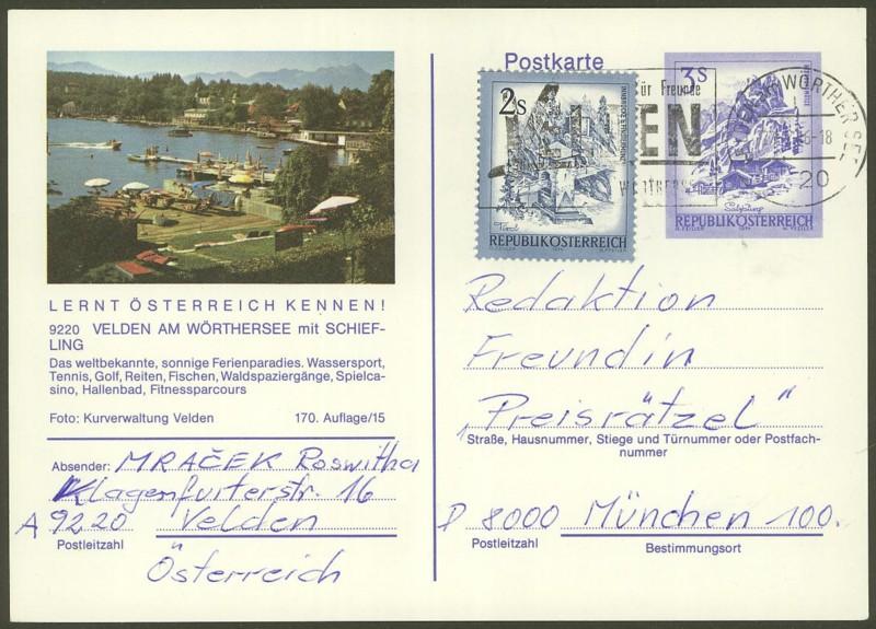 """Ganzsachen mit Wertstempel """"Schönes Österreich"""" - Seite 2 P_461_52"""