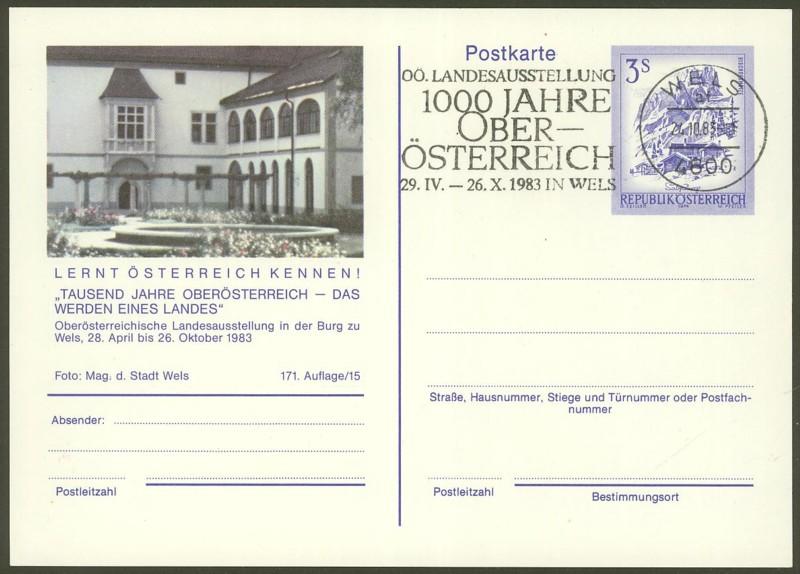 """Ganzsachen mit Wertstempel """"Schönes Österreich"""" - Seite 2 P_461_58"""