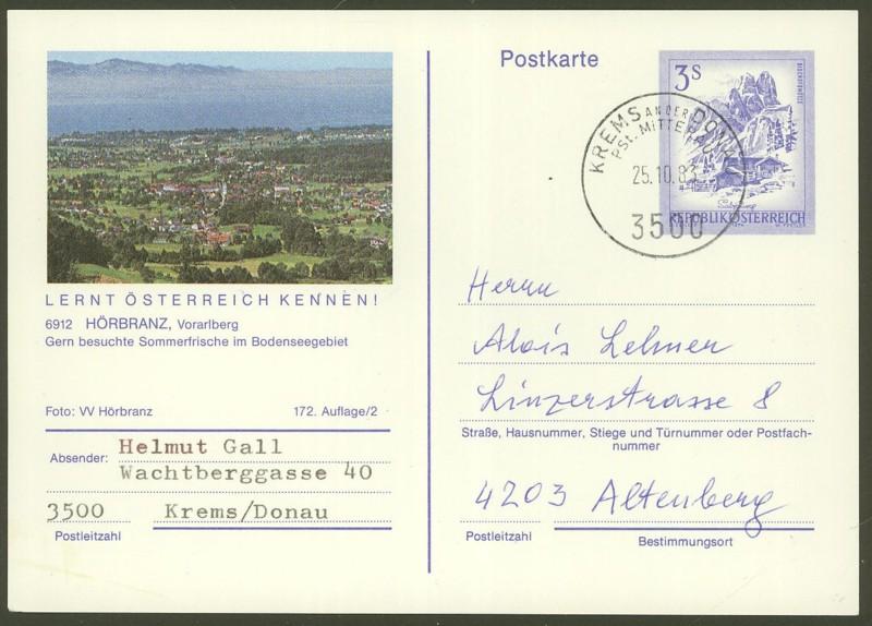 """Ganzsachen mit Wertstempel """"Schönes Österreich"""" - Seite 2 P_461_60"""