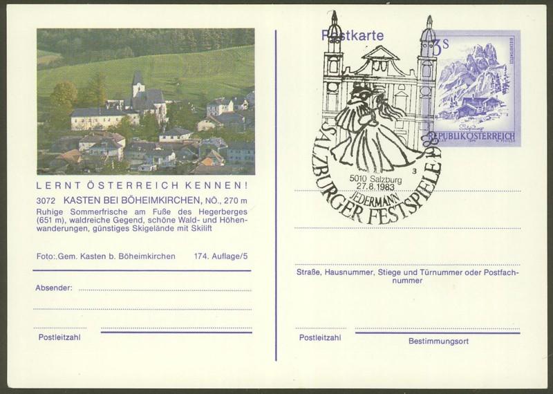 """Ganzsachen mit Wertstempel """"Schönes Österreich"""" - Seite 2 P_461_68"""