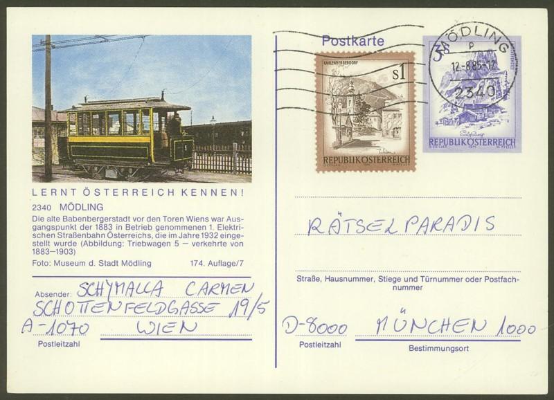 """Ganzsachen mit Wertstempel """"Schönes Österreich"""" - Seite 2 P_461_70"""