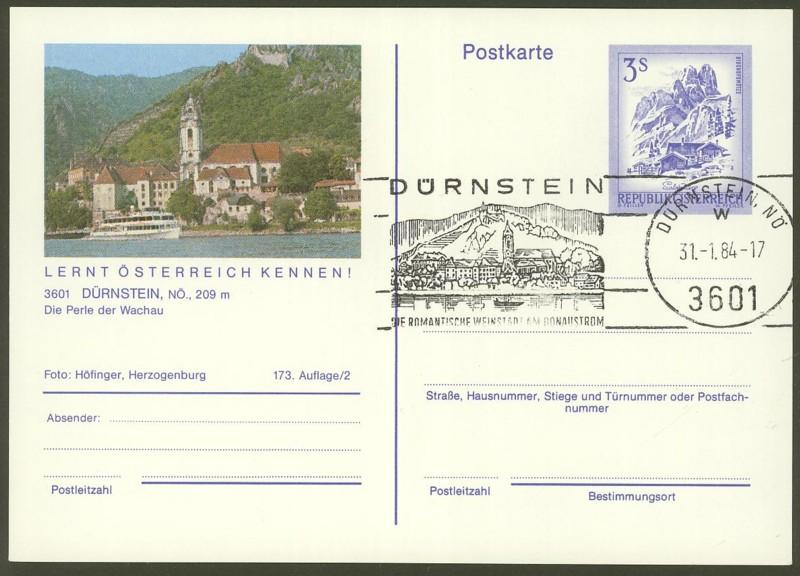"""Ganzsachen mit Wertstempel """"Schönes Österreich"""" - Seite 2 P_464_10"""