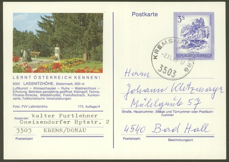 """Ganzsachen mit Wertstempel """"Schönes Österreich"""" - Seite 2 P_464_12"""