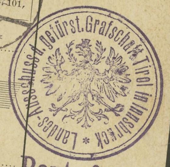 Buchprojekt HILFE - Stempel aus Innsbruck auf Belegen gesucht - Seite 2 Pbegla13