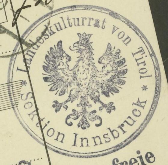 Buchprojekt HILFE - Stempel aus Innsbruck auf Belegen gesucht - Seite 2 Pbegla18