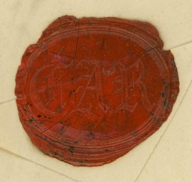 Markenlose Briefe vor 1920 (ohne Feldpost) Rostoc11