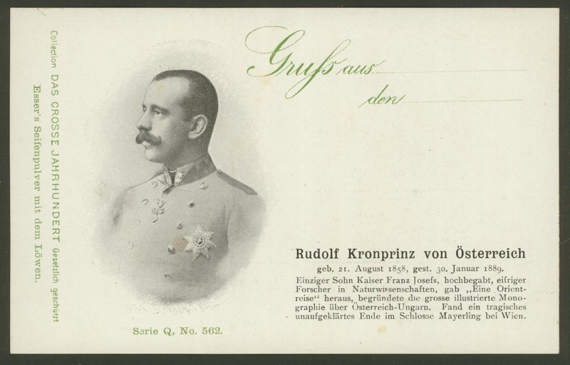 Sammlung Persönlichkeiten des 19. Jahrhunderts Rudolf10