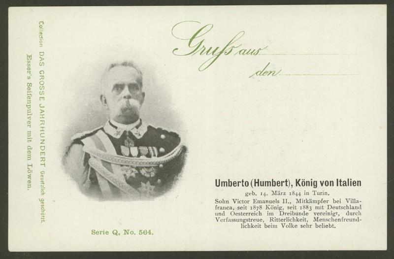 Sammlung Persönlichkeiten des 19. Jahrhunderts Umbert10