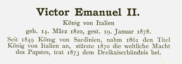 Sammlung Persönlichkeiten des 19. Jahrhunderts Victor11