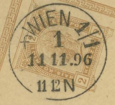 Wiener Stempel im 19.Jahrhundert Wien_111
