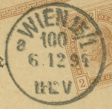Wiener Stempel im 19.Jahrhundert Wien_113