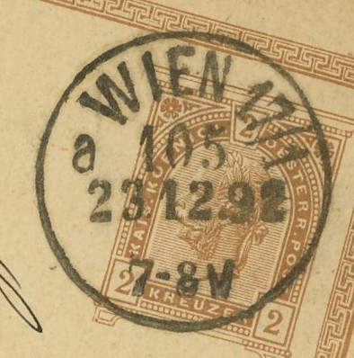 Wiener Stempel im 19.Jahrhundert Wien_114