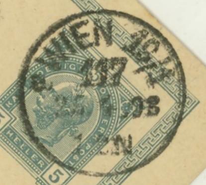 Wiener Stempel im 19.Jahrhundert Wien_116