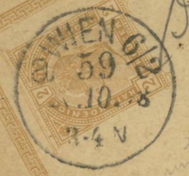 Wiener Stempel im 19.Jahrhundert Wien_513