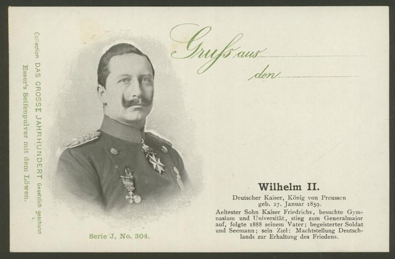 Sammlung Persönlichkeiten des 19. Jahrhunderts Wilhel12