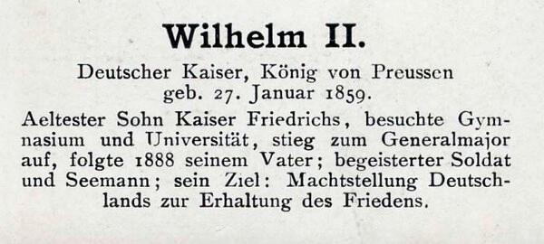 Sammlung Persönlichkeiten des 19. Jahrhunderts Wilhel13