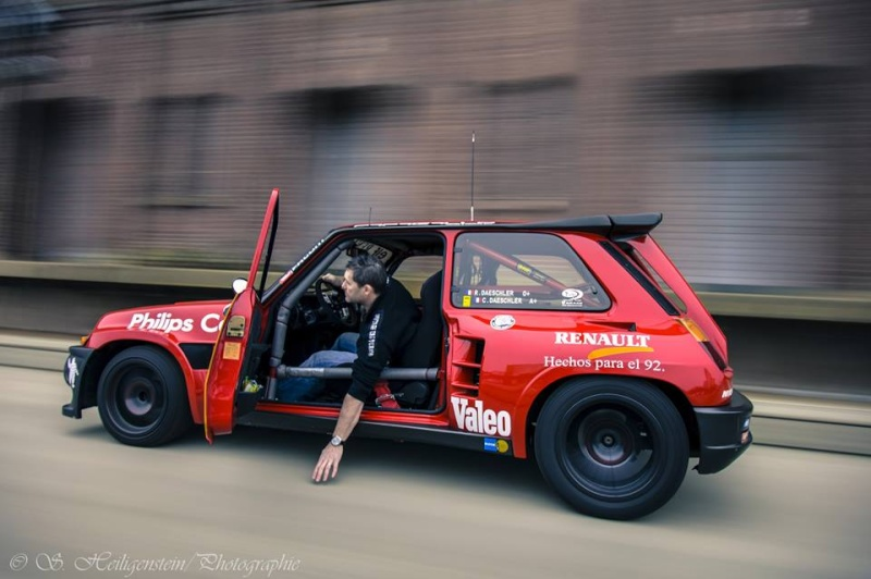 Shooting Renault 5 Turbo by Stephane 15575810