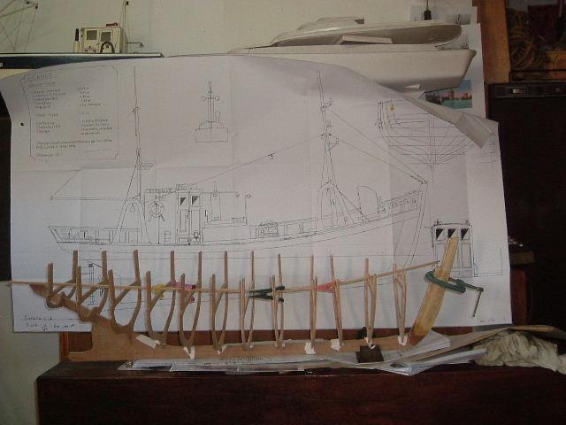 Construction d'un chalutier bois de A à Z LE KIFANLO Autos_10