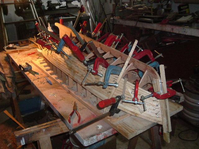 Construction d'un chalutier bois de A à Z LE KIFANLO Autos_11