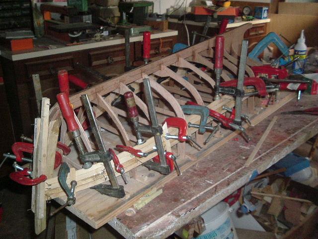 Construction d'un chalutier bois de A à Z LE KIFANLO Autos_12