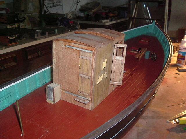 Construction d'un chalutier bois de A à Z LE KIFANLO Autos_15