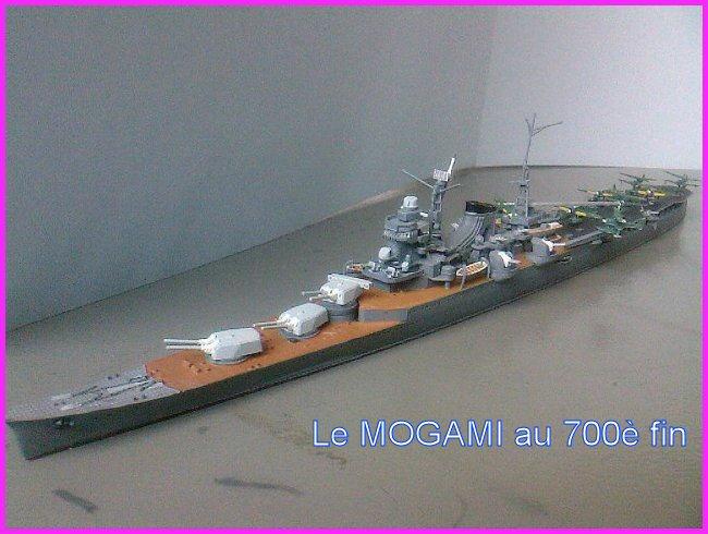 IJN MOGAMI  par l'ancien au 700 ème - Tamiya Mogami13