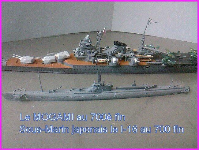 IJN MOGAMI  par l'ancien au 700 ème - Tamiya Mogami18
