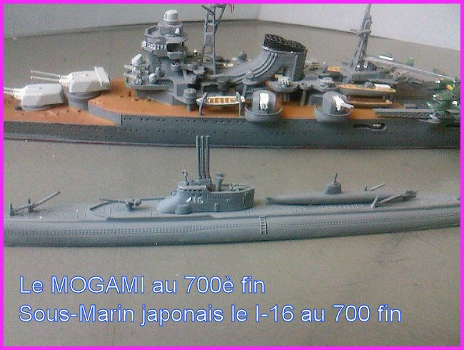 IJN MOGAMI  par l'ancien au 700 ème - Tamiya Mogami19
