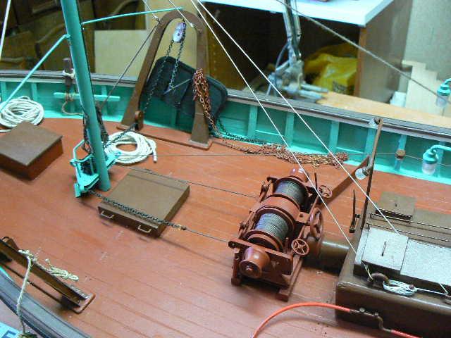 Construction d'un chalutier bois de A à Z LE KIFANLO P1060411