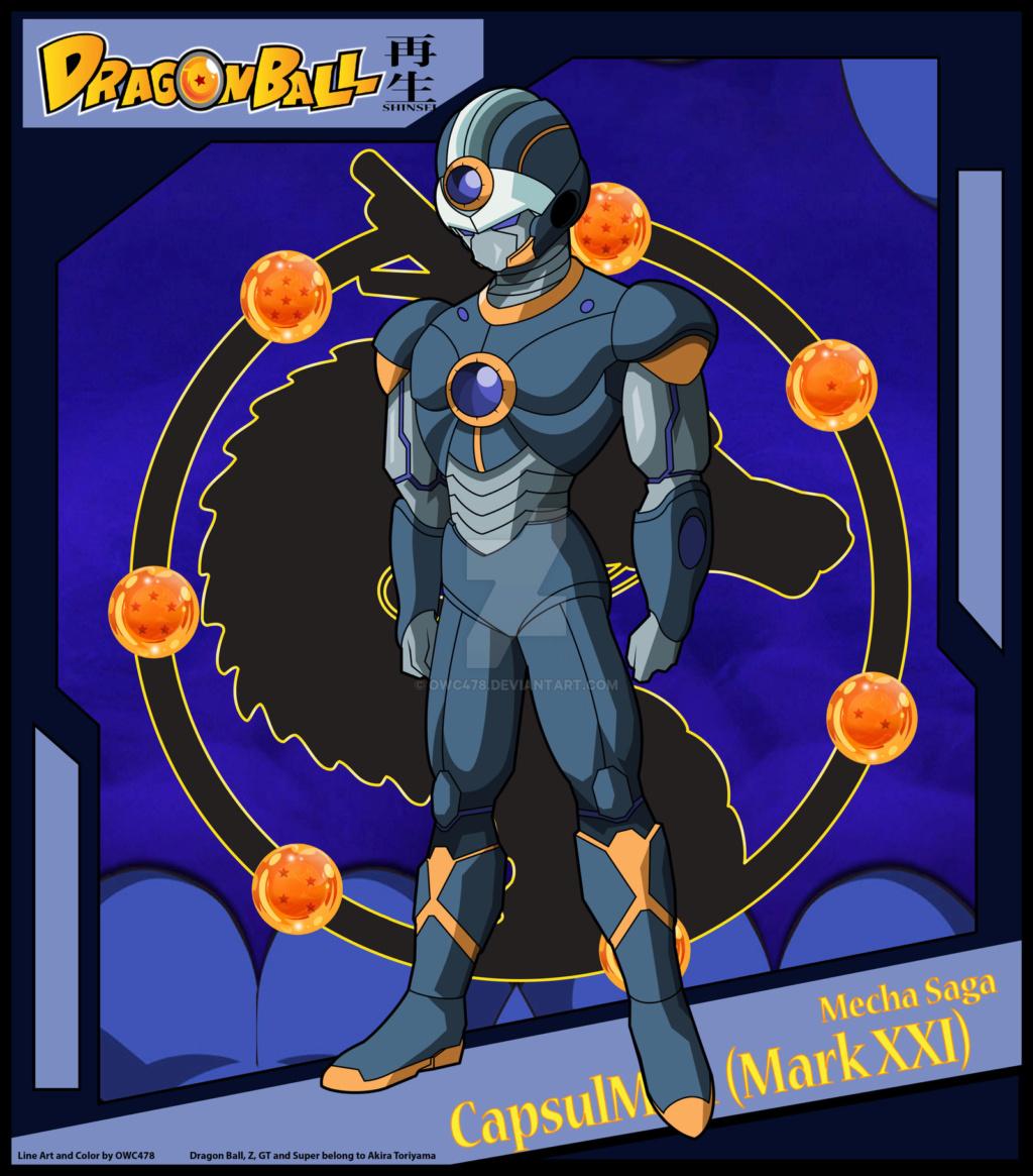 Personagens originais Capsul11