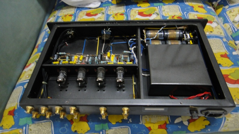 Bandridge Voice PL 420 tube preamplifier & Veice AN 88 tube power amplifier (Used)SOLD Dsc03636
