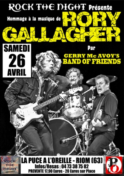 Band Of Friends - A celebration of the music of Rory Gallagher - Page 6 Affich10