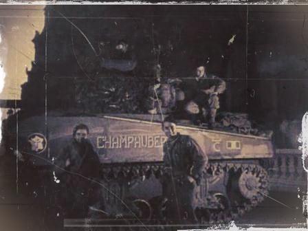 Sherman - Sherman M4A2 ' CHAMPAUBERT ' 2e DB/501RCC  ( Diorama terminé   )  Filer210