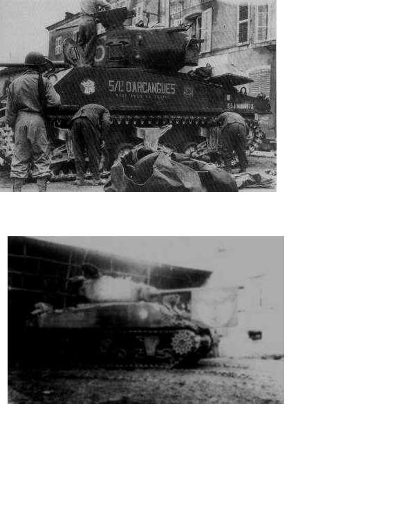 M4A3 (76) S/Lt d'Arcangues 12eme RCA [Italeri 1/35 ref.6440] Origin10