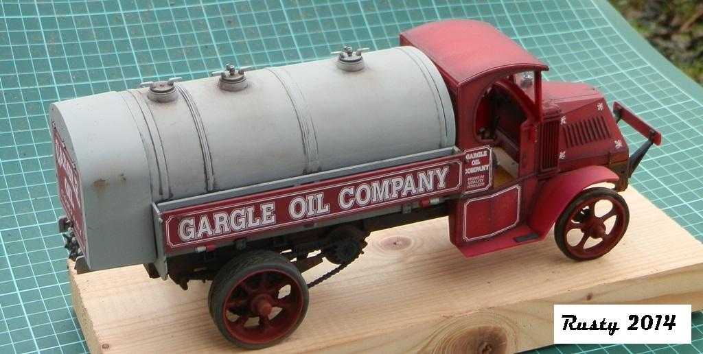 Mack Bulldog Tanker 1926  [1/24 Monogram] P1033311