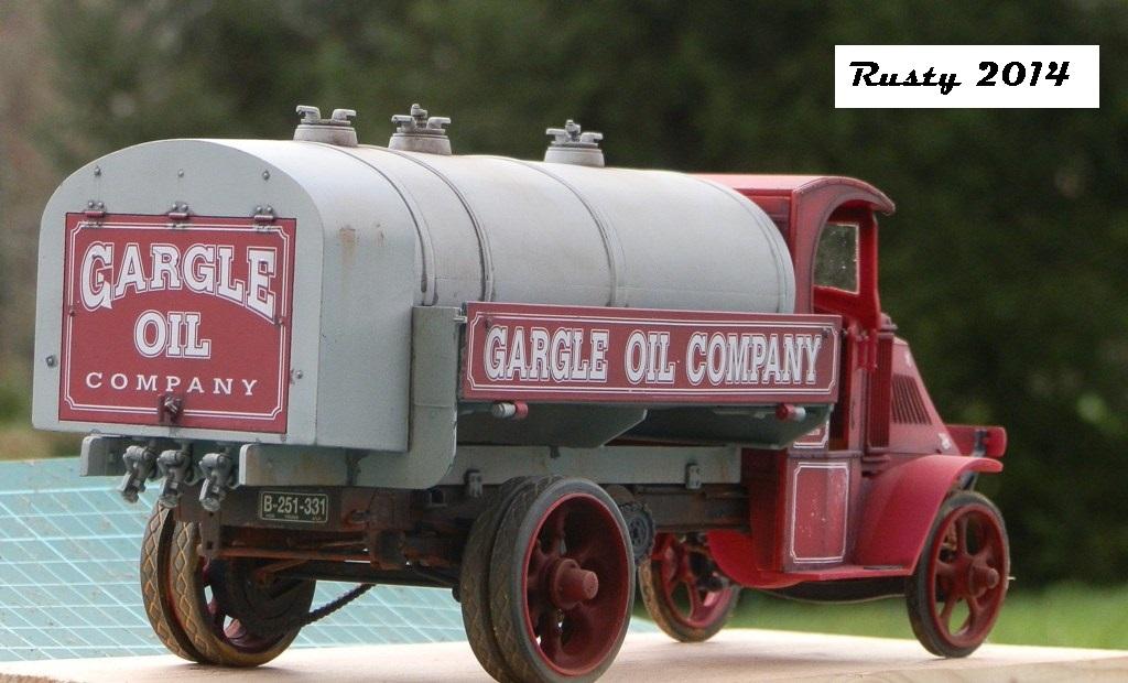 Mack Bulldog Tanker 1926  [1/24 Monogram] P1033411