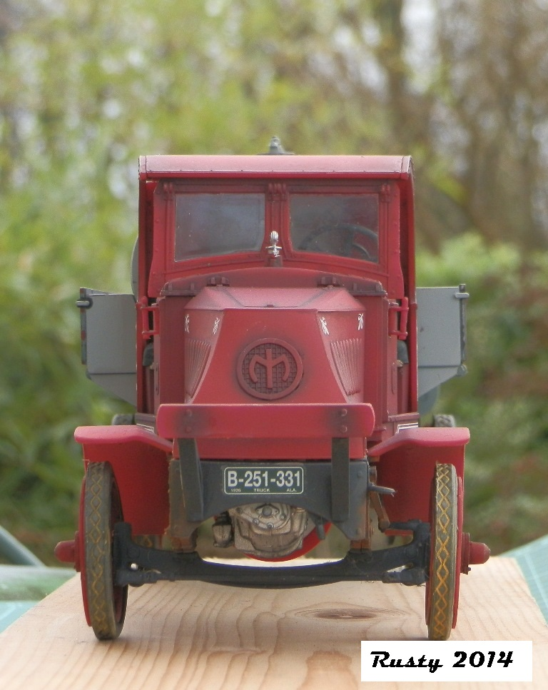 Mack Bulldog Tanker 1926  [1/24 Monogram] P1033414
