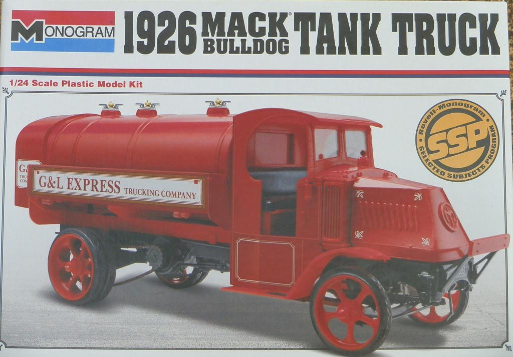 Mack Bulldog Tanker 1926  [1/24 Monogram] P1033415