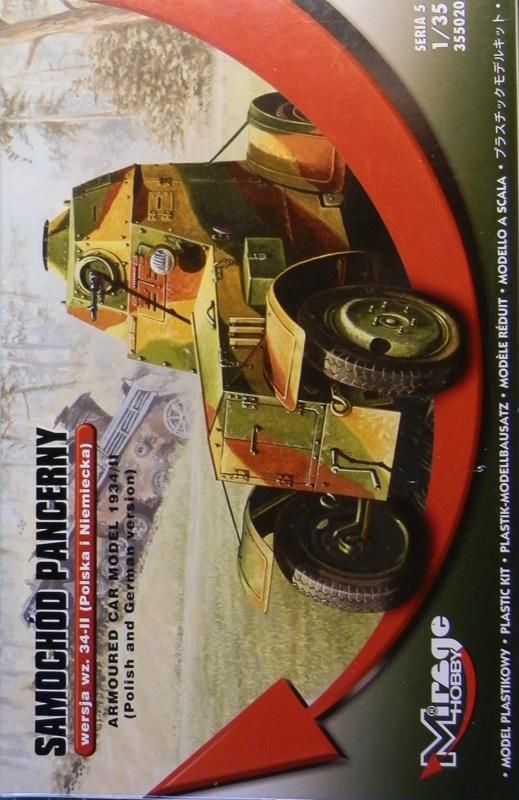Automitrailleuse Wz-34 / II [Mirage Hobby 1/35] P1183410